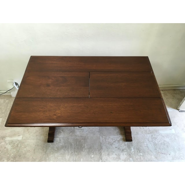 English Traditional Walter Company Slide Table or Desk For Sale - Image 9 of 13
