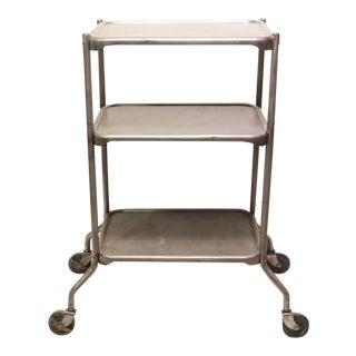 Vintage Industrial 3-Tier Bar Cart