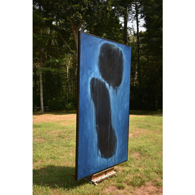 "Stephen Remick Modern ""Wood Thrush Serenade"" Large Abstract Painting by Stephen Remick For Sale - Image 4 of 12"