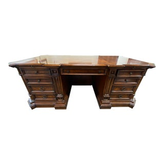 Traditional Viniterra Executive Desk For Sale