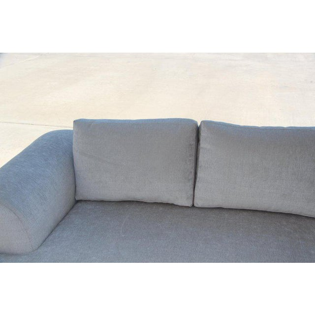 Marge Carson Marge Carson Hollywood Regency Sofa and Chairs Redone in Knoll Summit Fabric For Sale - Image 4 of 13
