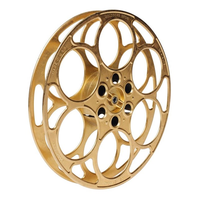 Decorative Brass Film Reel For Sale