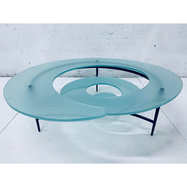 """Giorgio Cattelan """"Spiral"""" Coffee Table for Cattelan Italia For Sale - Image 13 of 13"""