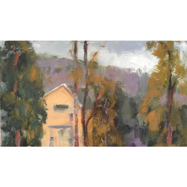 Rustic Amador Creek Plein Air Oil Painting For Sale - Image 3 of 6
