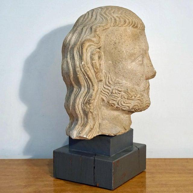 Medieval Limestone Bust - Image 8 of 10