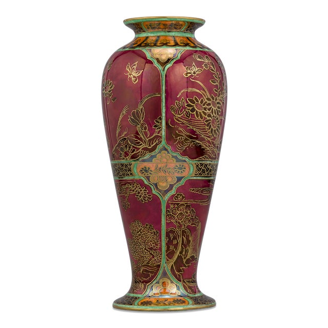 Wedgwood Wedgwood Fairyland Lustre Porcelain Daventry Vase For Sale - Image 4 of 4