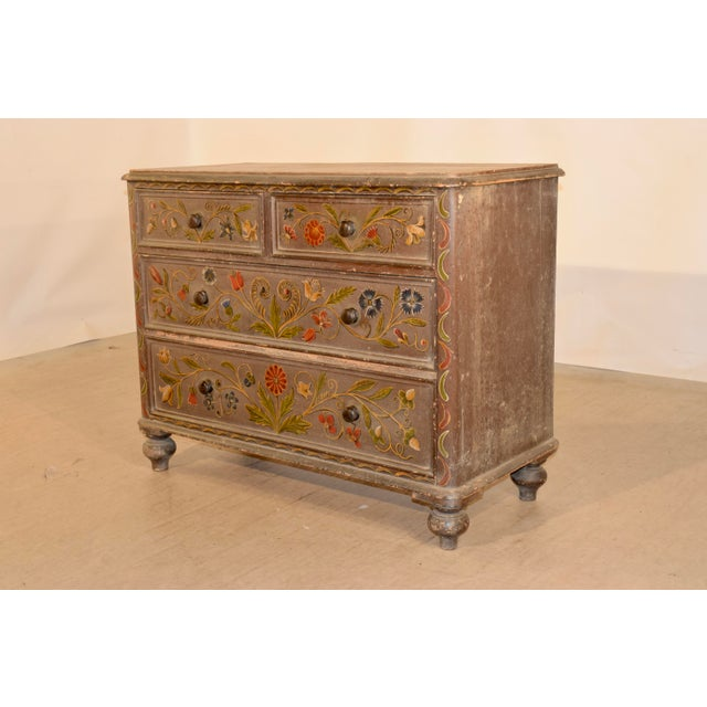 19th Century Painted Chest of Drawers For Sale In Greensboro - Image 6 of 10