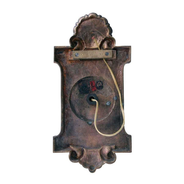 American Made Bronze Caldwell Sconces - a Pair For Sale - Image 10 of 12