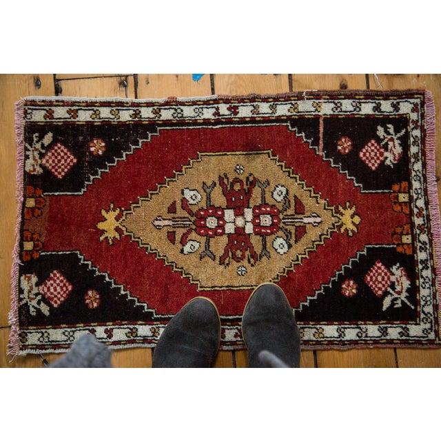 """Vintage Oushak Rug - 1'6"""" x 2'4"""" - Image 2 of 6"""