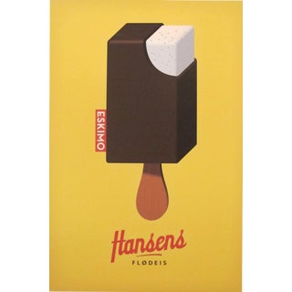 2014c. Contemporary Danish Poster, Hansen's Eskimo For Sale