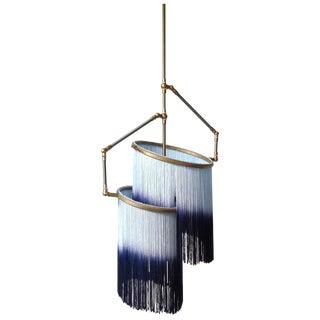 Blue Charme Pendant Lamp, Sander Bottinga For Sale