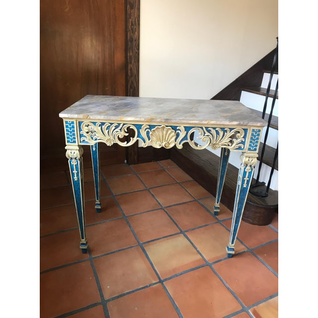 Painted 1920s Console Table - Image 2 of 10