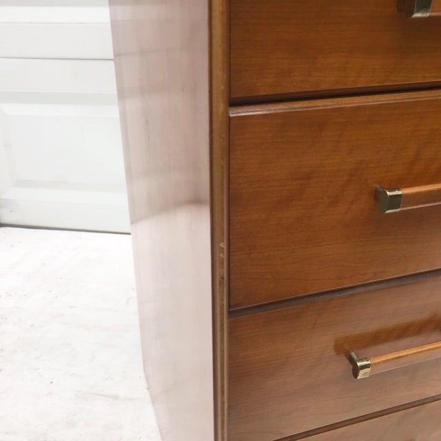 Mid-Century Chest of Drawers by Renzo Rutili for Johnson Brothers For Sale In New York - Image 6 of 13