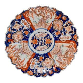 19th Century Imari Charger For Sale