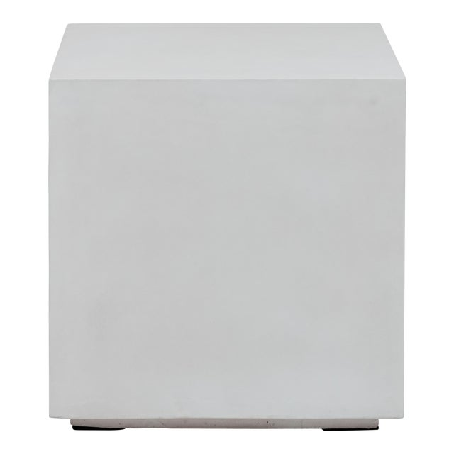 Robert End Table, Ivory For Sale