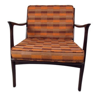 Vintage Modern Sculpted Lounge Chair For Sale