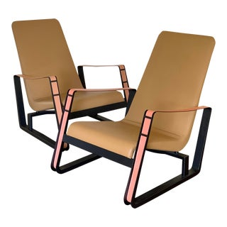 Cite Lounge Chairs- A Pair For Sale
