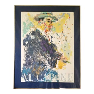 """1970s """"Al Capone"""" Leroy Neiman Limited Edition Serigraph Numbered #278/300, Framed For Sale"""