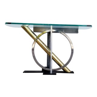 Kaizo Oto for DIA Sculptural Console Table For Sale
