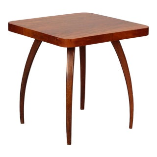 Jindrich Halabala Square Side Table For Sale