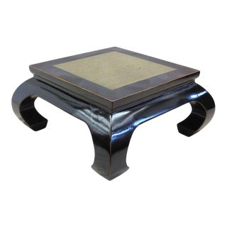 Stone Top Cocktail Table For Sale
