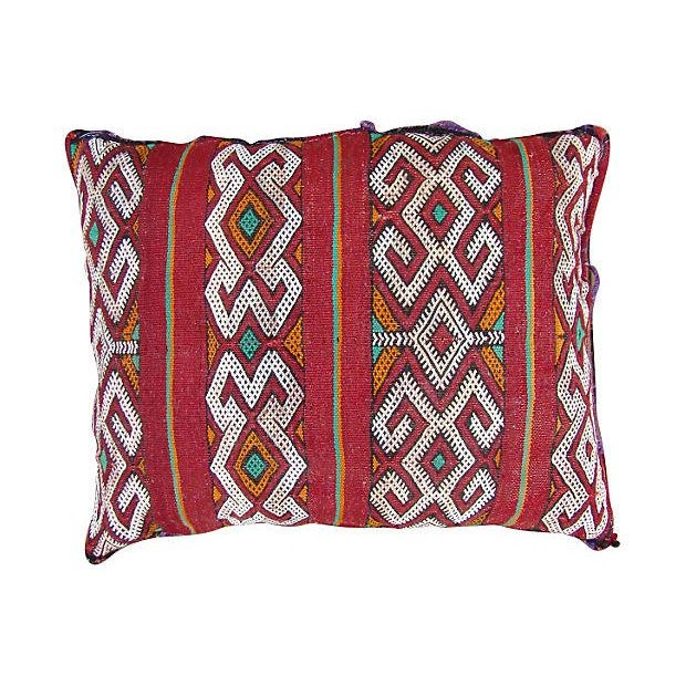 Moroccan Tribal Berber Pillow - Image 1 of 2