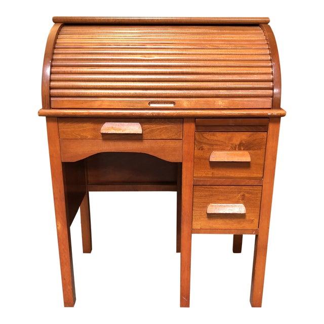 Antique Miniature Roll Top Desk For Sale