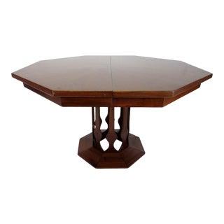 Walter Wabash Danish Walnut Table For Sale