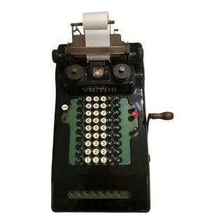 Vintage Victor Adding Machine For Sale