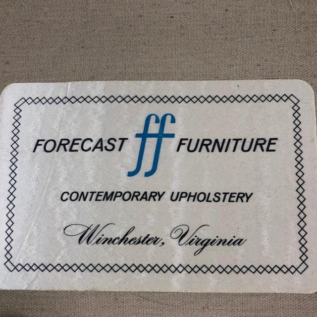 Tan Mid Century Modern Milo Baughman Chrome Framed Love Seat For Sale - Image 8 of 11