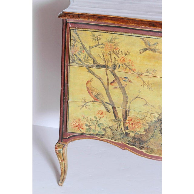 Mid 18th Century 18th Century Italian Painted Commode For Sale - Image 5 of 13