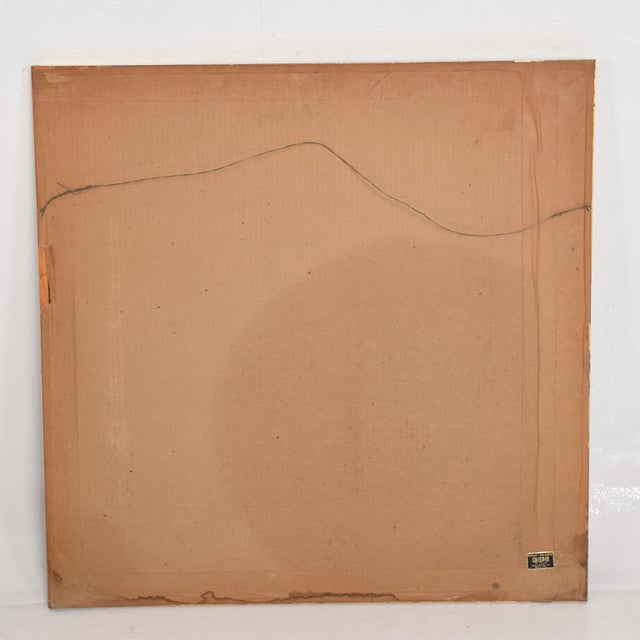 Mid-Century Modern Vintage Pedro Friedeberg Lithograph Signed in Pencil A. P. 6/10 For Sale - Image 3 of 8