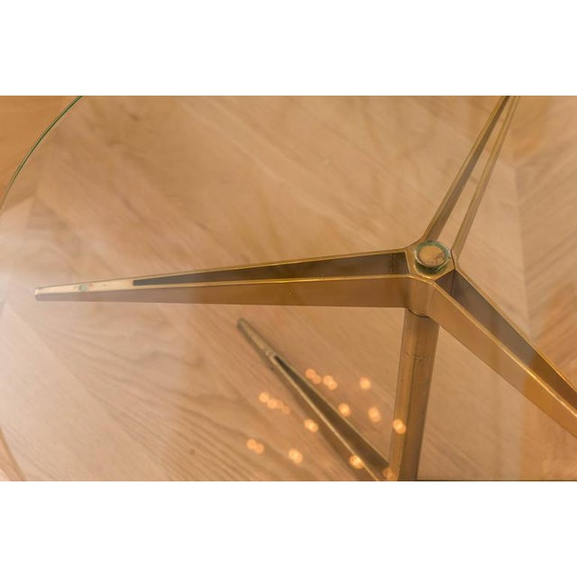 Ico Parisi Brass Occasional Table - Image 5 of 6