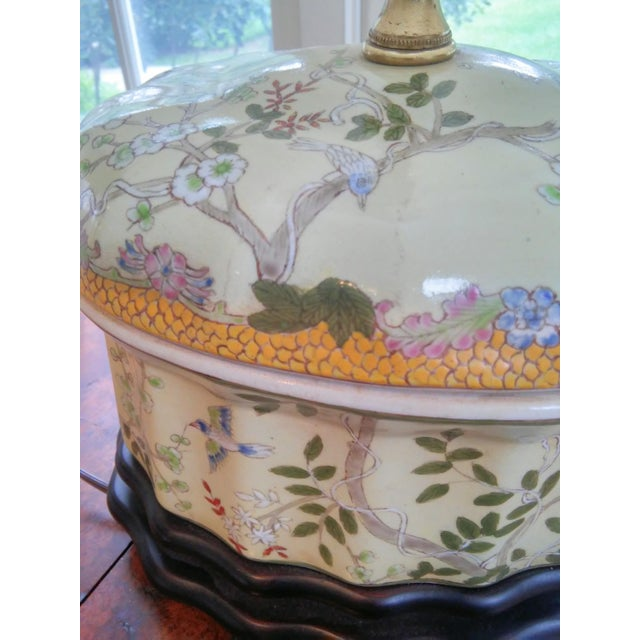 Chinese Oval Jar Lamp - Image 6 of 9