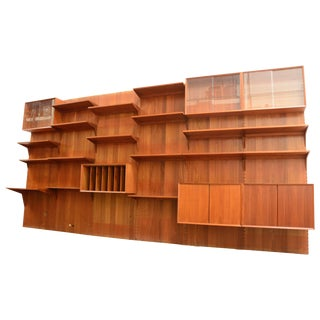 Royal Teak Wall Unit by Cado Poul Cadovius For Sale