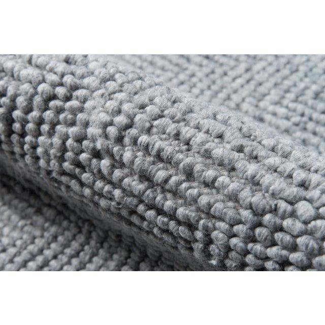 Erin Gates by Momeni Ledgebrook Washington Grey Hand Woven Area Rug - 5′ × 8′ For Sale - Image 4 of 8