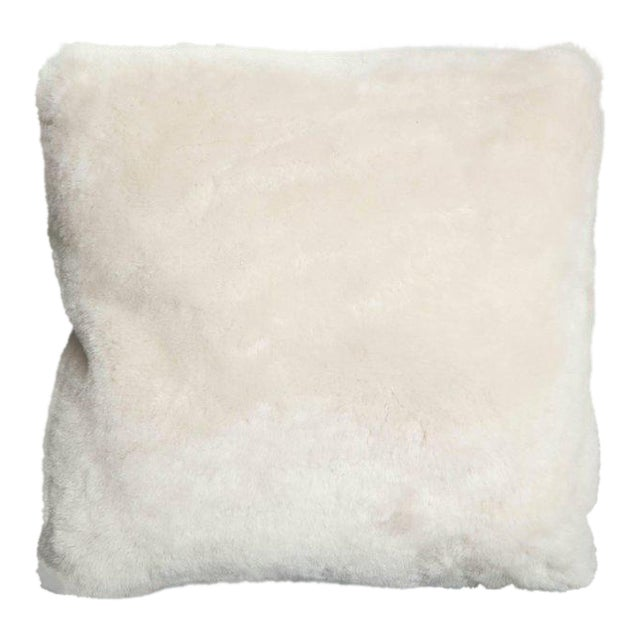Genuine Shearling Pillow For Sale