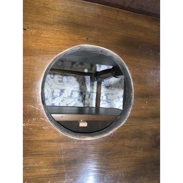 Hand Carved Wooden Vanity & Hand Painted Sink For Sale In Las Vegas - Image 6 of 12