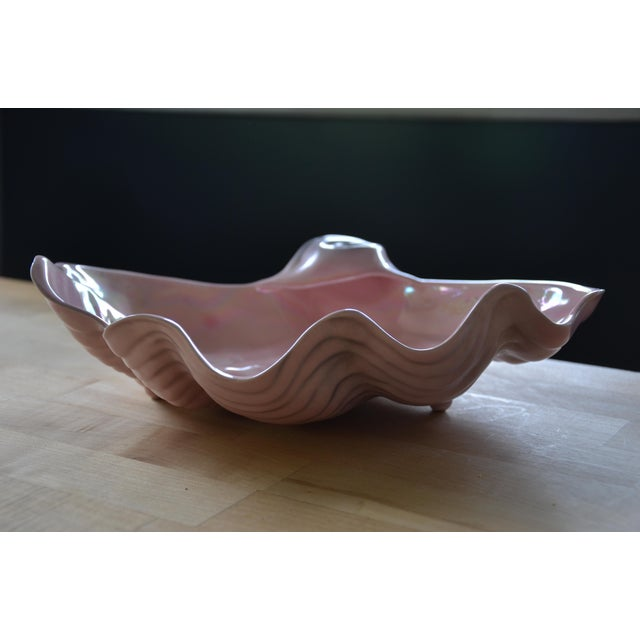 Pearl Pink Clam Shell Bowl - Image 3 of 8