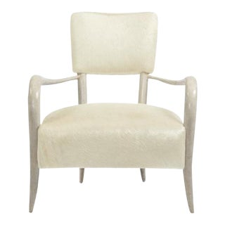Bernhardt Elka Chair in Faux Horn For Sale