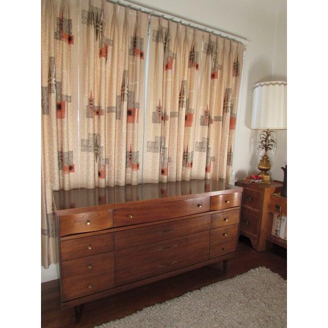 1950s Bassett Mid-Century Modern Dresser - Image 3 of 11