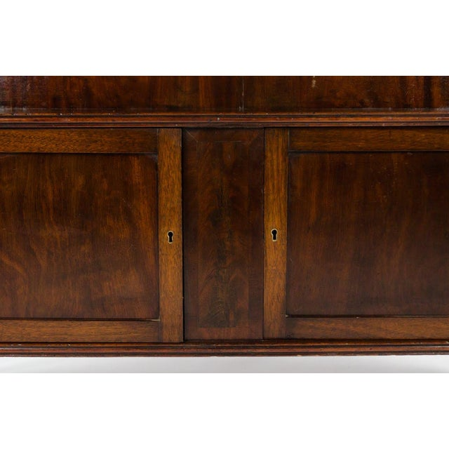 19th Century English Traditional Mahogany 3 Shelf Etagere For Sale - Image 9 of 13