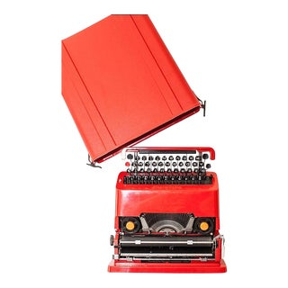 Sottsass Valentine Typewriter For Sale