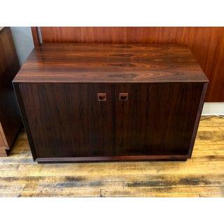 Vintage Danish Modern Rosewood Credenza Cabinet 1960's Preview