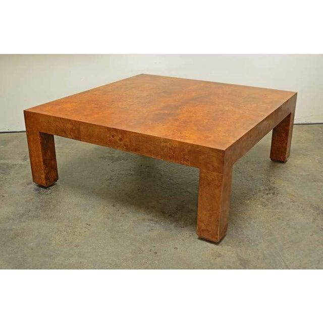 Burlwood Coffee Table by Milo Baughman - Image 2 of 4