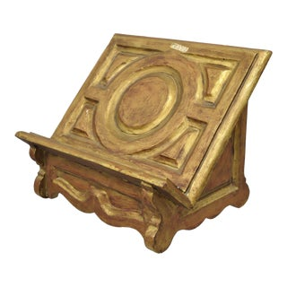 20th Century Italian Baroque Style Book Stand Holder/Lecturn For Sale