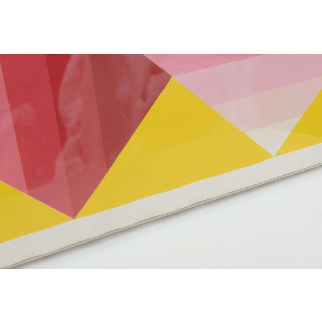 Paper Gorgeous Serigraph by Herbert Bayer, Austria, 1973 For Sale - Image 7 of 9