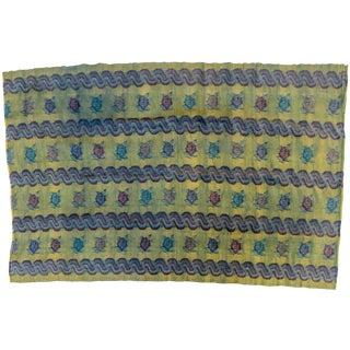 1940s Vintage Burmese Weaving For Sale