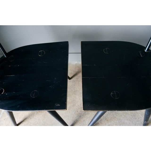 1950s Vintage Paul McCobb Planner Group Chairs- A Pair For Sale - Image 10 of 13