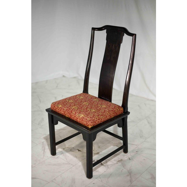 1970s Chinoiserie Raymond Sobota Asian Dining Chairs by Century - Set of 8 For Sale - Image 11 of 12